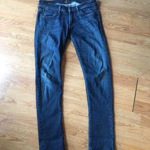 Agolde jeans Chloe size 27 skinny denim
